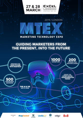 Marketing Technology Expo 2019 by Prysm Group - issuu