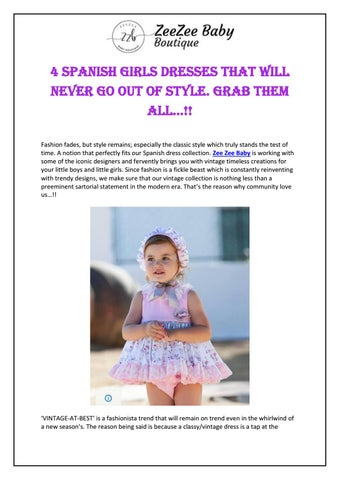 202d1024 4 Spanish Girls Dresses That Will Never Go Out of Style. Grab them All…!!  by ZeeZee Baby Boutique