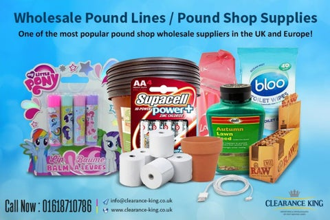 Wholesale Pound Lines / Pound Shop Suppliers by Jonas Carter