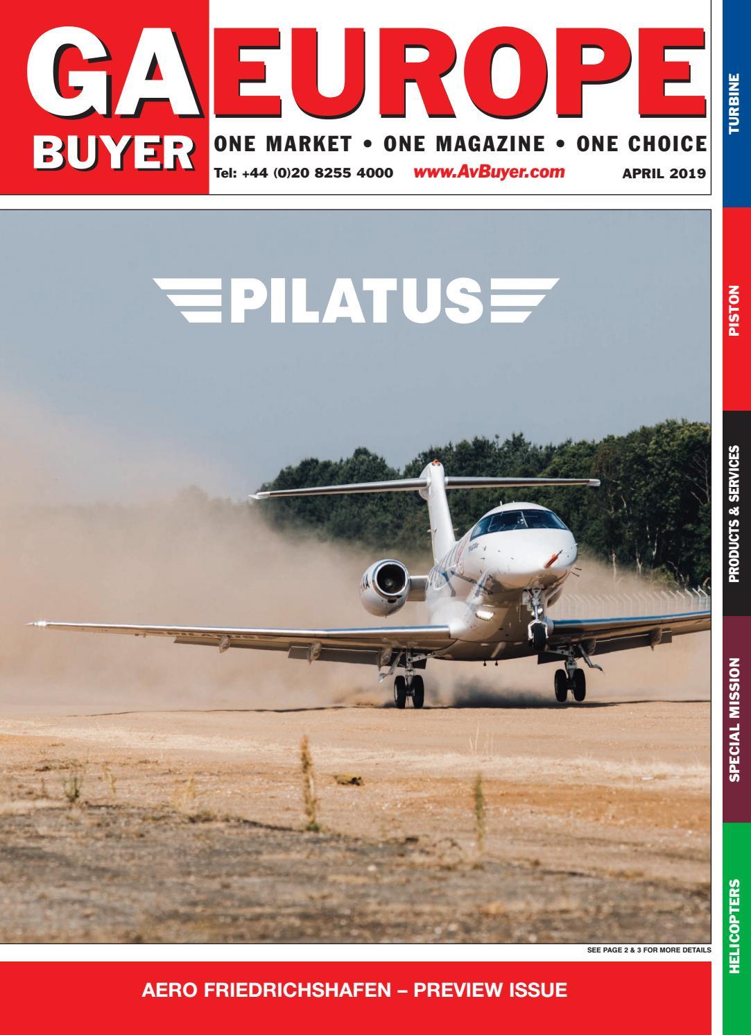 GA Buyer Europe April 2019 by AvBuyer Ltd  - issuu