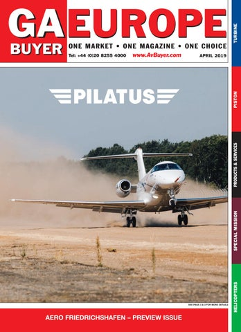 GA Buyer Europe April 2019 by AvBuyer Ltd  - issuu