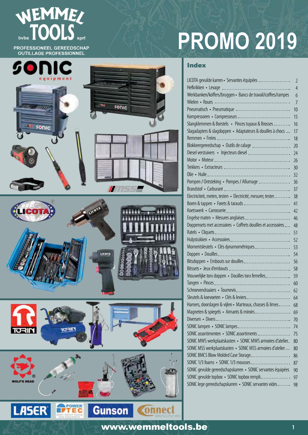 Catalogus Wemmel Tools 2019 By Ide Automotive Issuu