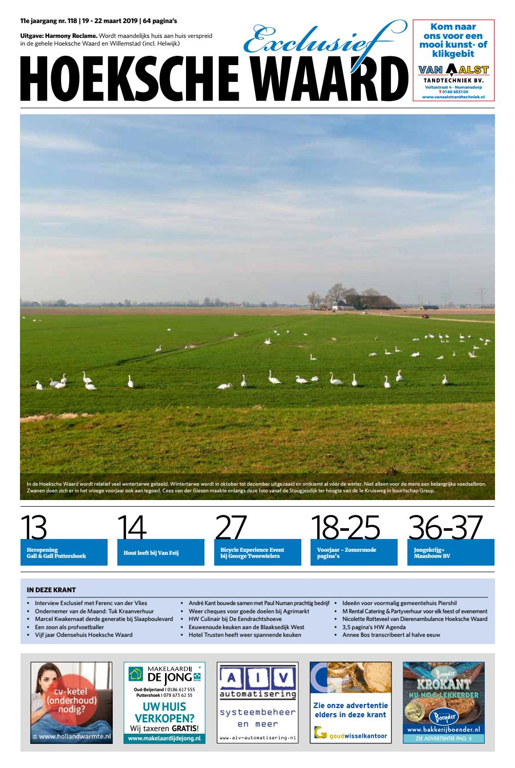 84cd86d11e1 Hoeksche Waard Exclusief - Maart 2019 by Hoeksche Waard Exclusief - issuu