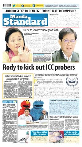 8c84ada29b96 Manila Standard - 2019 March 19 - Tuesday by Manila Standard - issuu