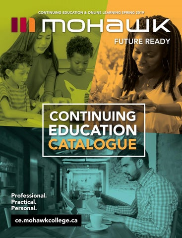 Mohawk College Continuing Education Catalogue Spring 2019 by Mohawk