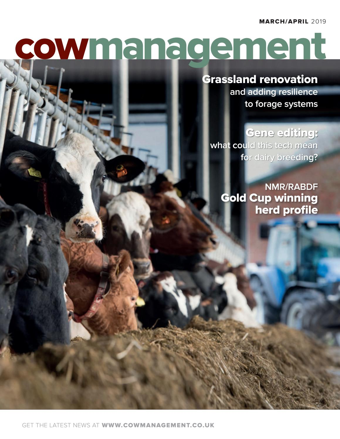 Cowmanagement March-April 2019 by CRV Uitgeverij/CRV Publishers - issuu