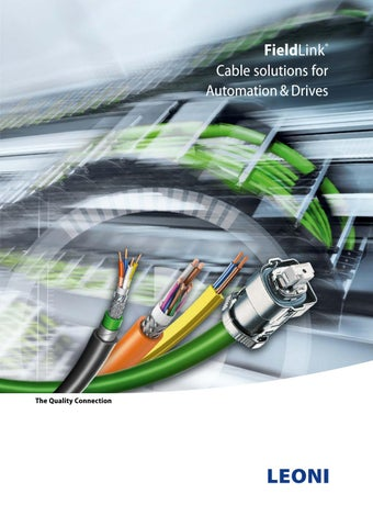 LEONI Fieldlink® Cable Solutions for Automation & Drives