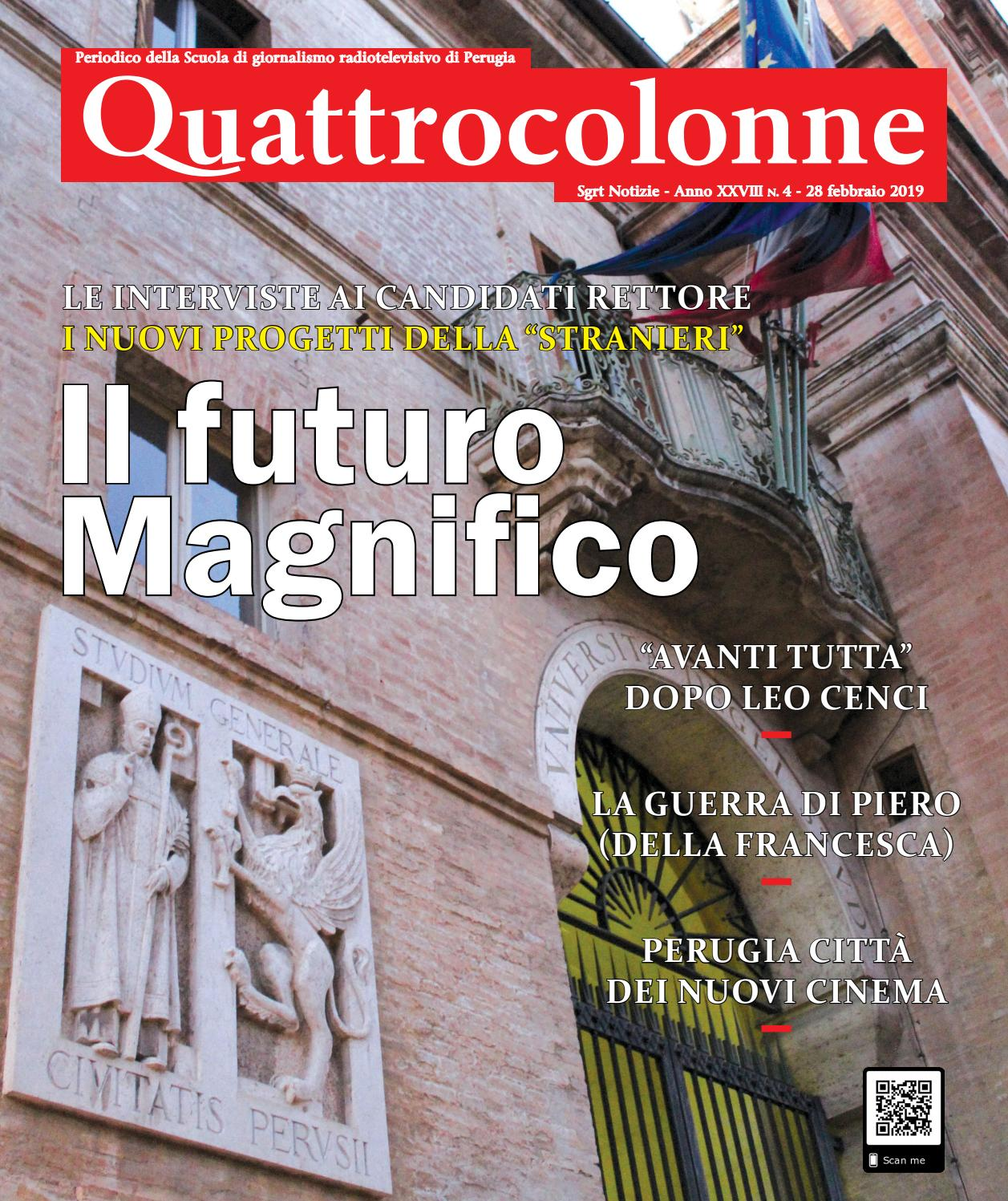 Calendario Esami Unipg Economia.Numero 4 28 Febbraio 2019 By Quattrocolonne Issuu