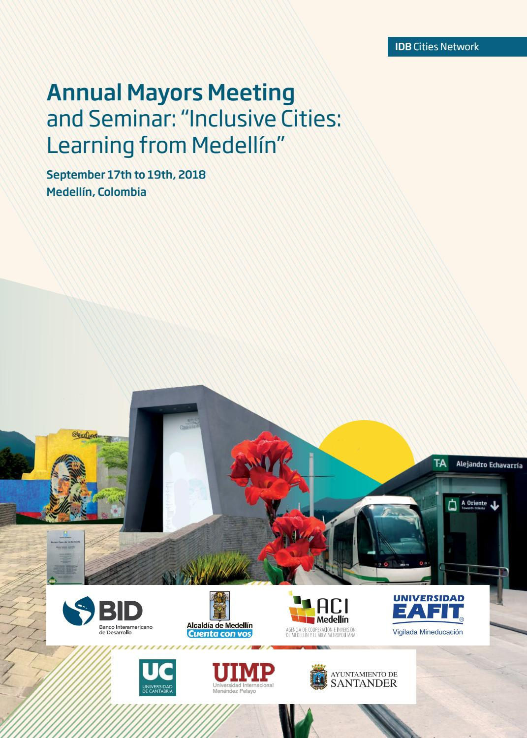 Inclusive Cities Learning From Medellín By Bid Ciudades