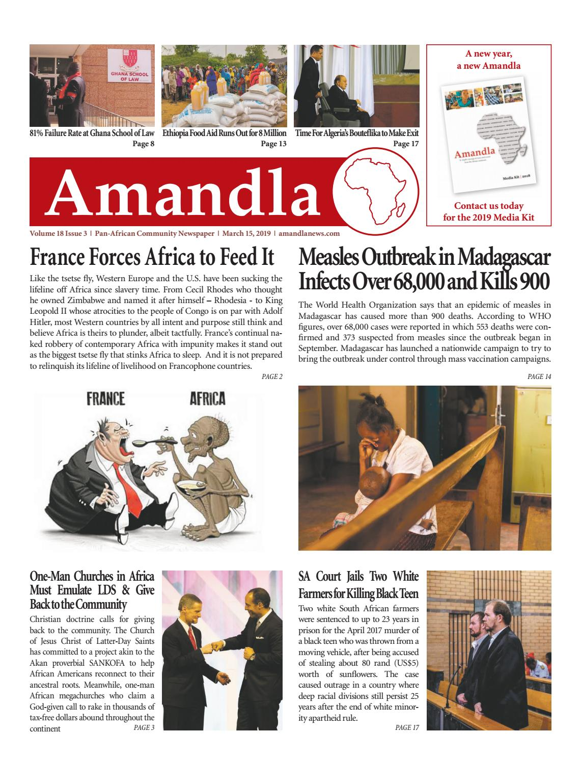 Amandla News - March 2019 by Amandla News - issuu