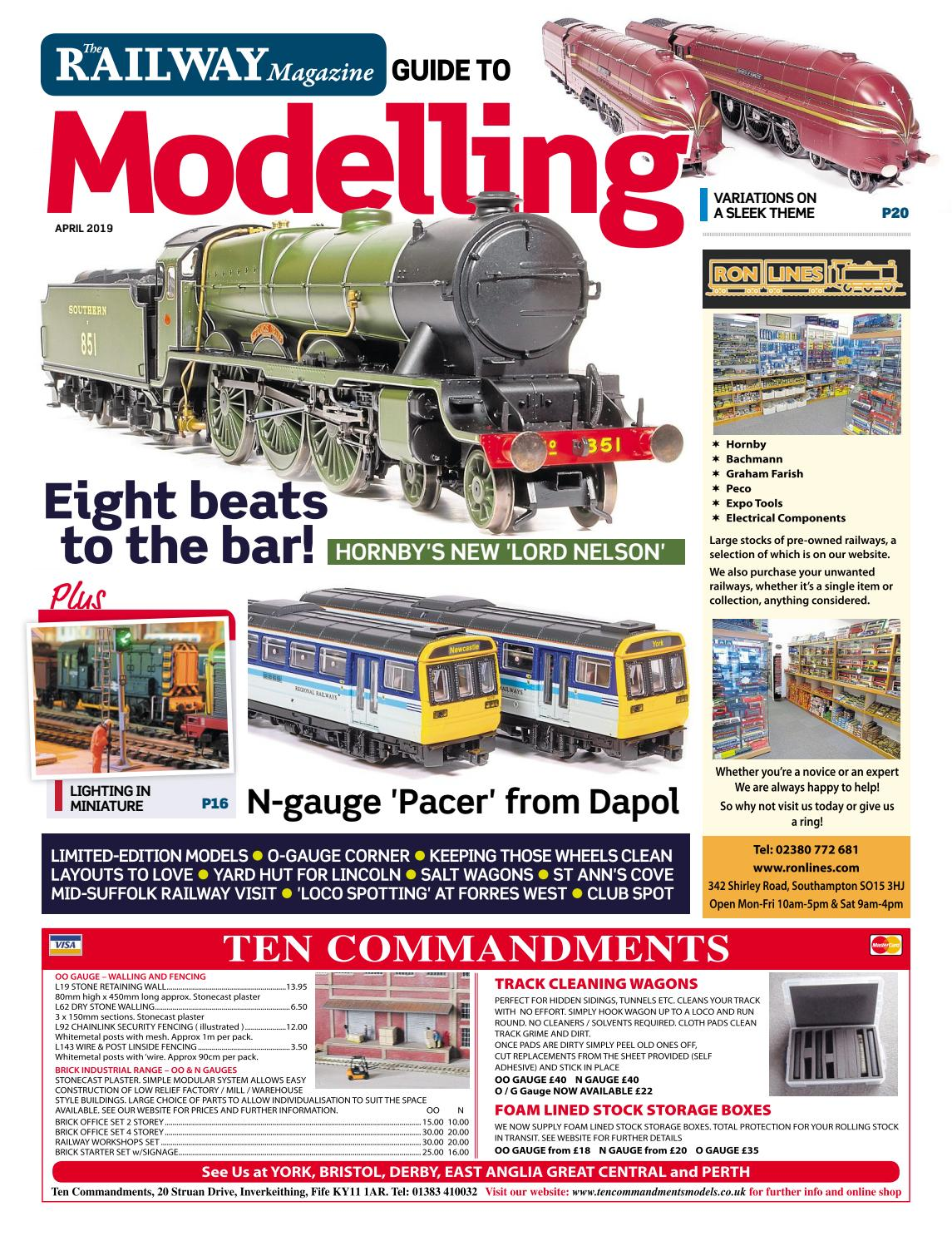Railway Magazine Guide to Modelling - April 2019 - Preview