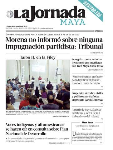 aacdb9fdf La Jornada Maya · lunes 18 de noviembre de 2019 by La Jornada Maya ...