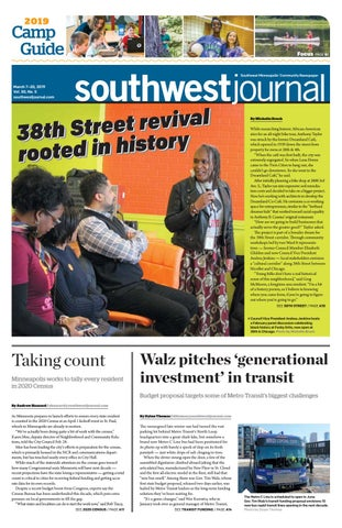 Southwest Journal, March 7–20, 2019 by The Southwest Journal - issuu