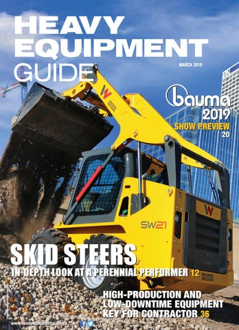 Heavy Equipment Guide March 2018, Volume 34, Number 3 by