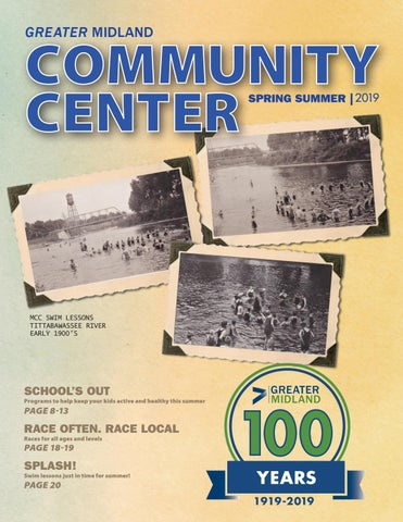 Greater Midland Community Center Spring Summer 2019 Brochure by