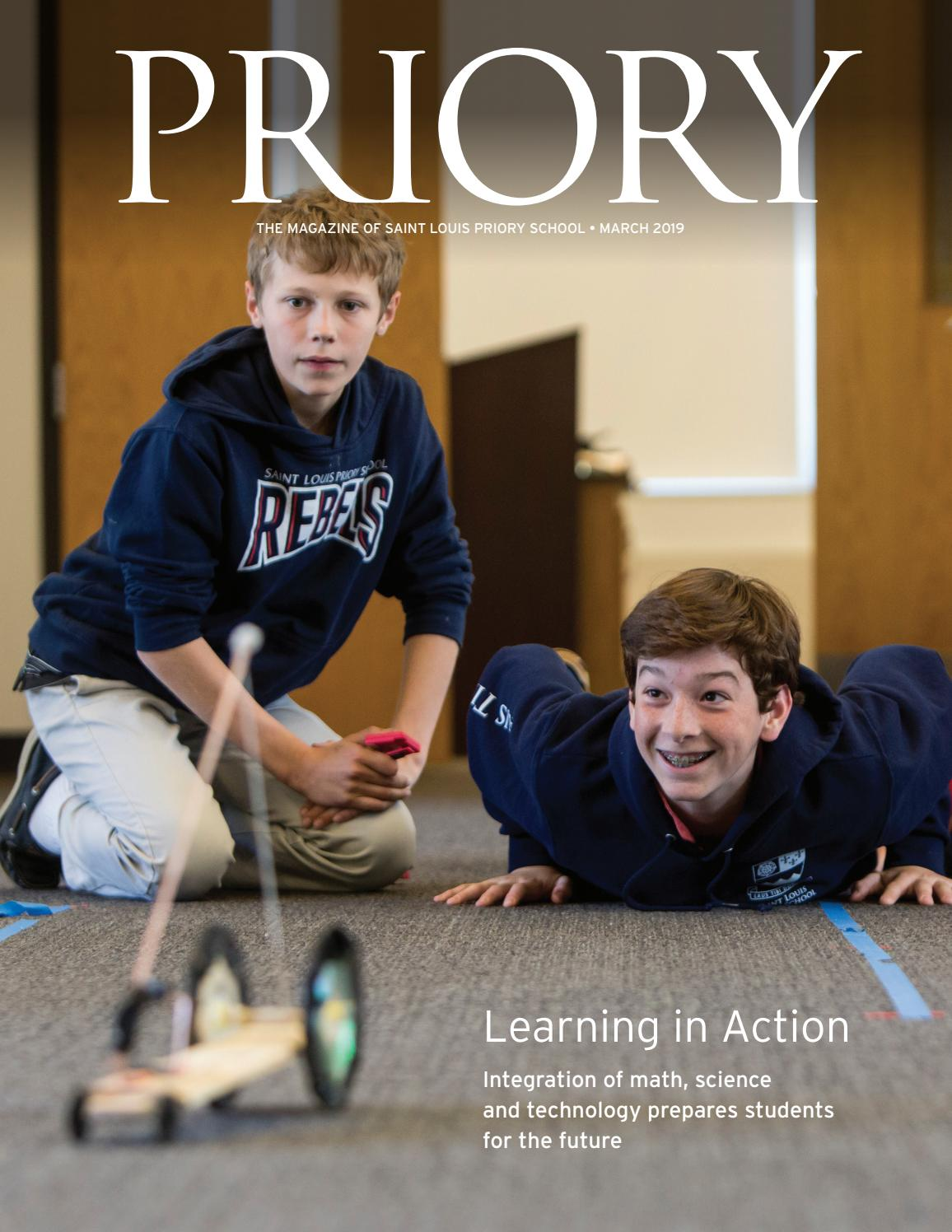 Priory Magazine, Issue 1 (March 2019) by Saint Louis Priory