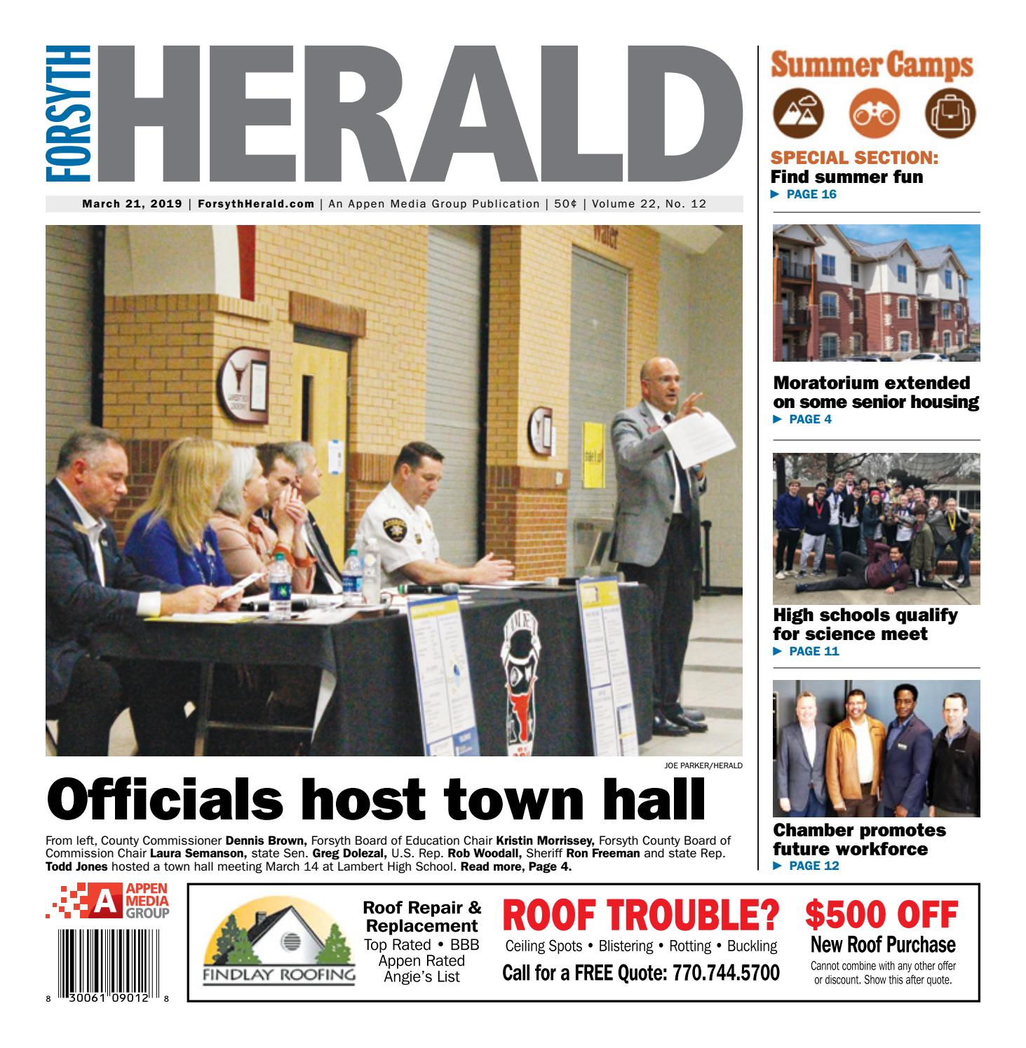 Forsyth Herald – March 21, 2019 by Appen Media Group - issuu