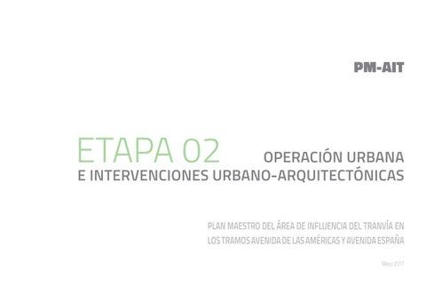 2efba61f4 PMAIT Plan Maestro del Área de Influencia del Tranvía en los Tramos ...