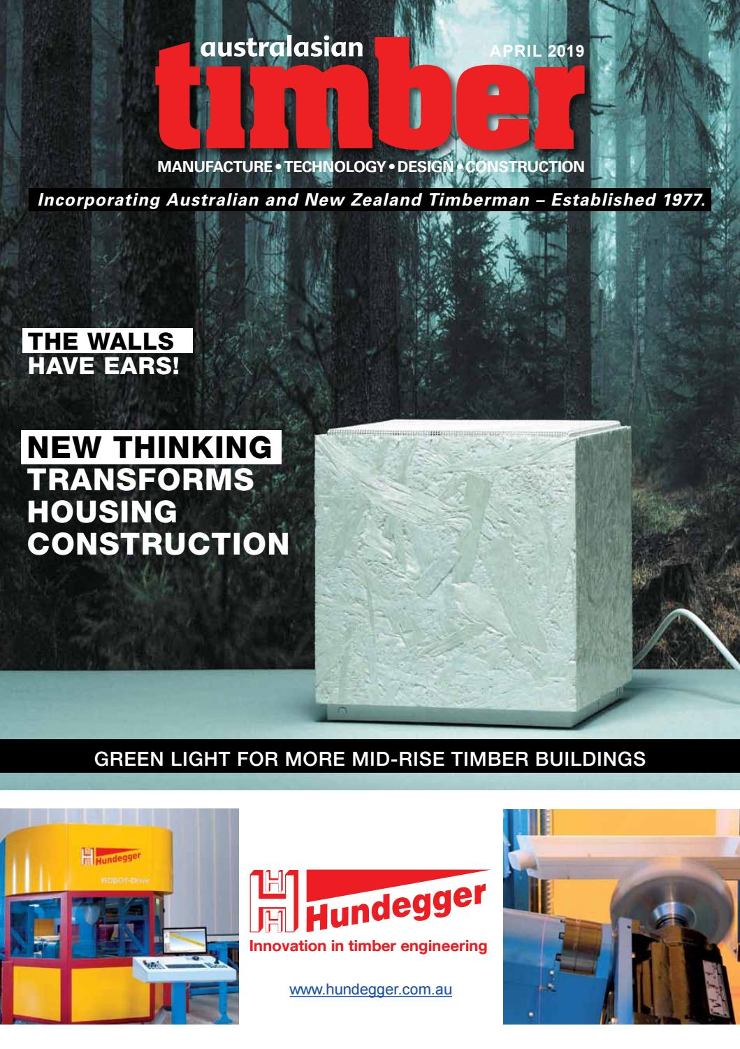 Australasian Timber Magazine - April 2019 by provincial