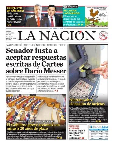 a9bfceb27 DIARIO LA NACIÓN - EDICIÓN 8.654 by La Nación - issuu