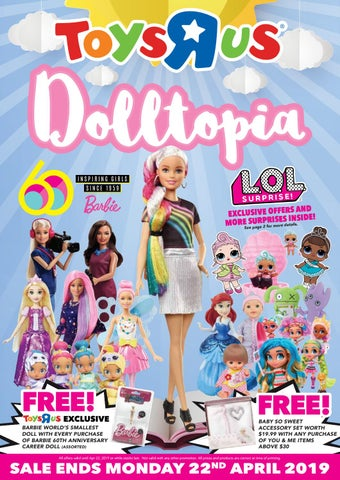 March 2019 Doll Flyer By Toys R Us Singapore Issuu