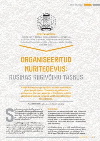 Page 15 of Organiseeritud kuritegevus: rusikas riigivõimu taskus