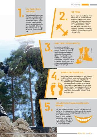 Page 25 of 5 soovitust alustavale sõjasportlasele