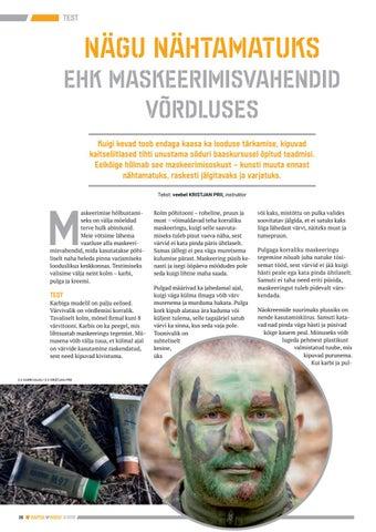 Page 26 of Nägu nähtamatuks ehk Maskeerimisvahendid võrdluses