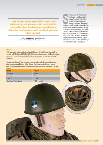 Page 35 of Kaitseliidu kiivrid: kastrulitest peakaitsesüsteemideni