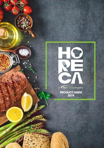 HORECA UAE Product Guide 2019 by Bidfood ME - issuu