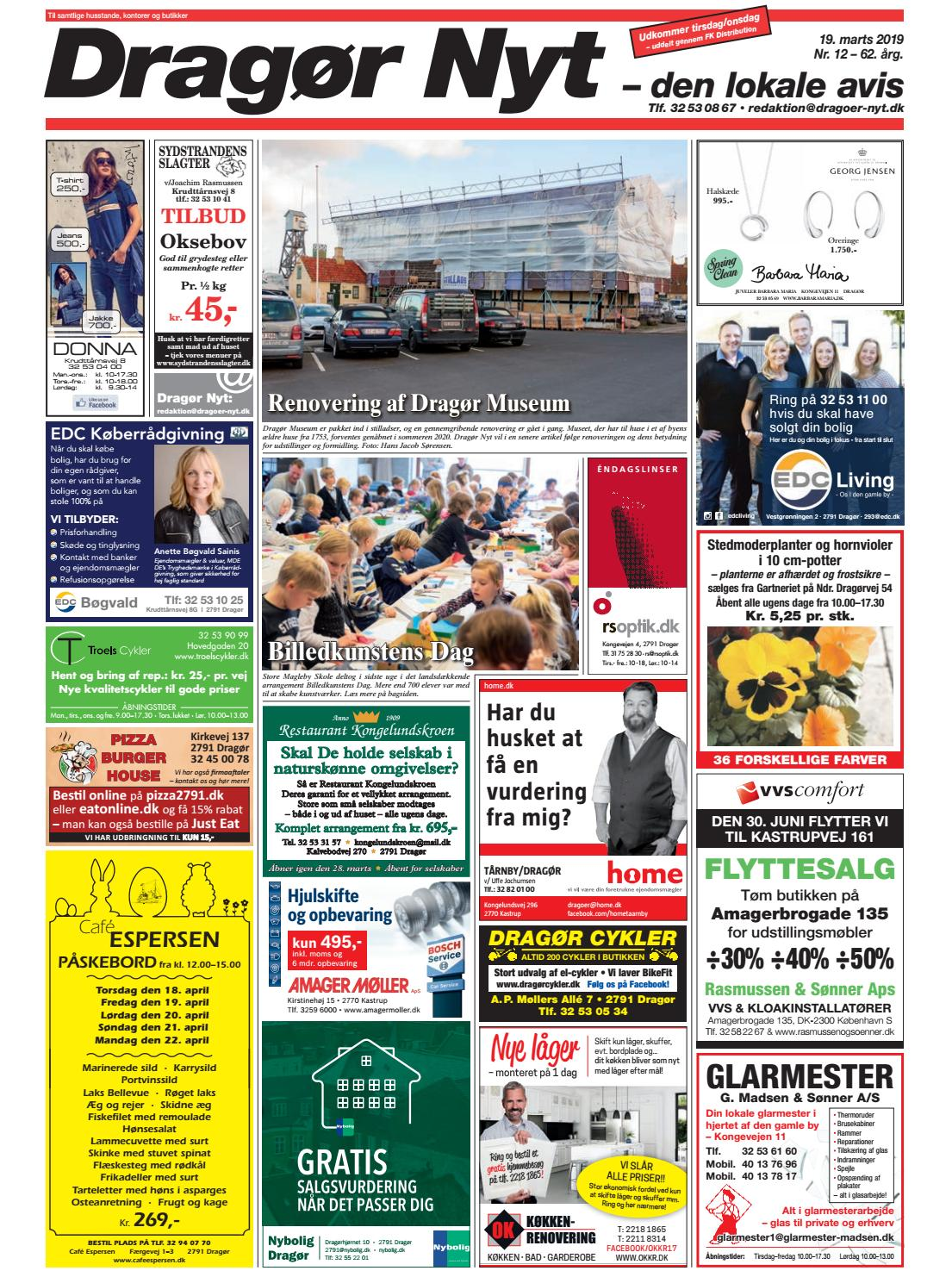 Picture of: Dragor Nyt Nr 12 2019 By Starco Grafisk Issuu