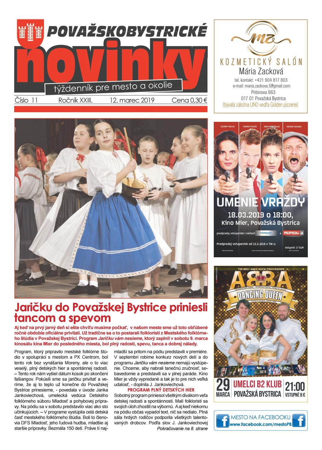 2e0624fea34b5 Považskobystrické novinky č. 11/2019 by Považskobystrické novinky - issuu