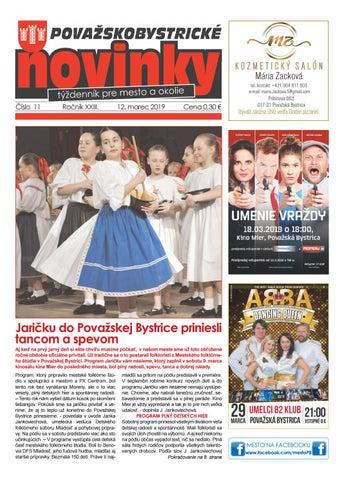 746d359b5 Považskobystrické novinky č. 11/2019 by Považskobystrické novinky ...