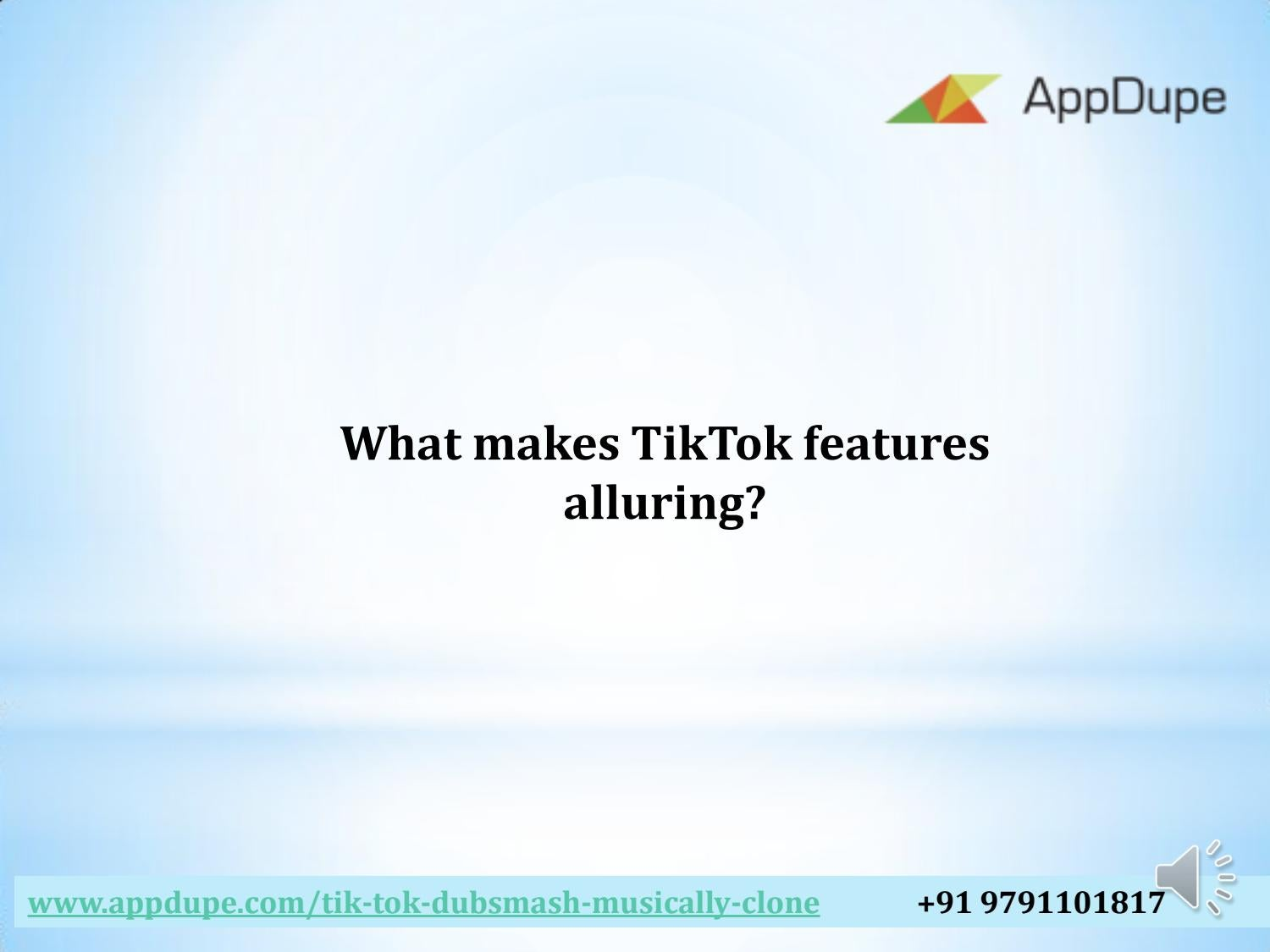 What makes TikTok features alluring? by angeline geo - issuu