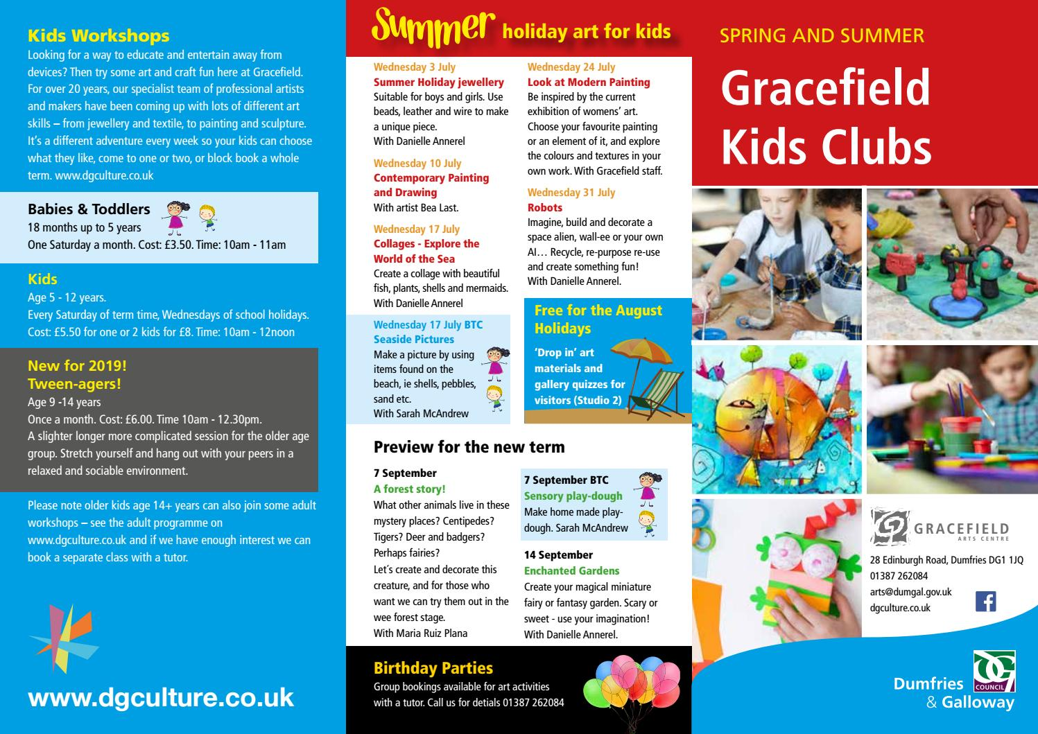 Gracefield Kids club by DG Council - issuu