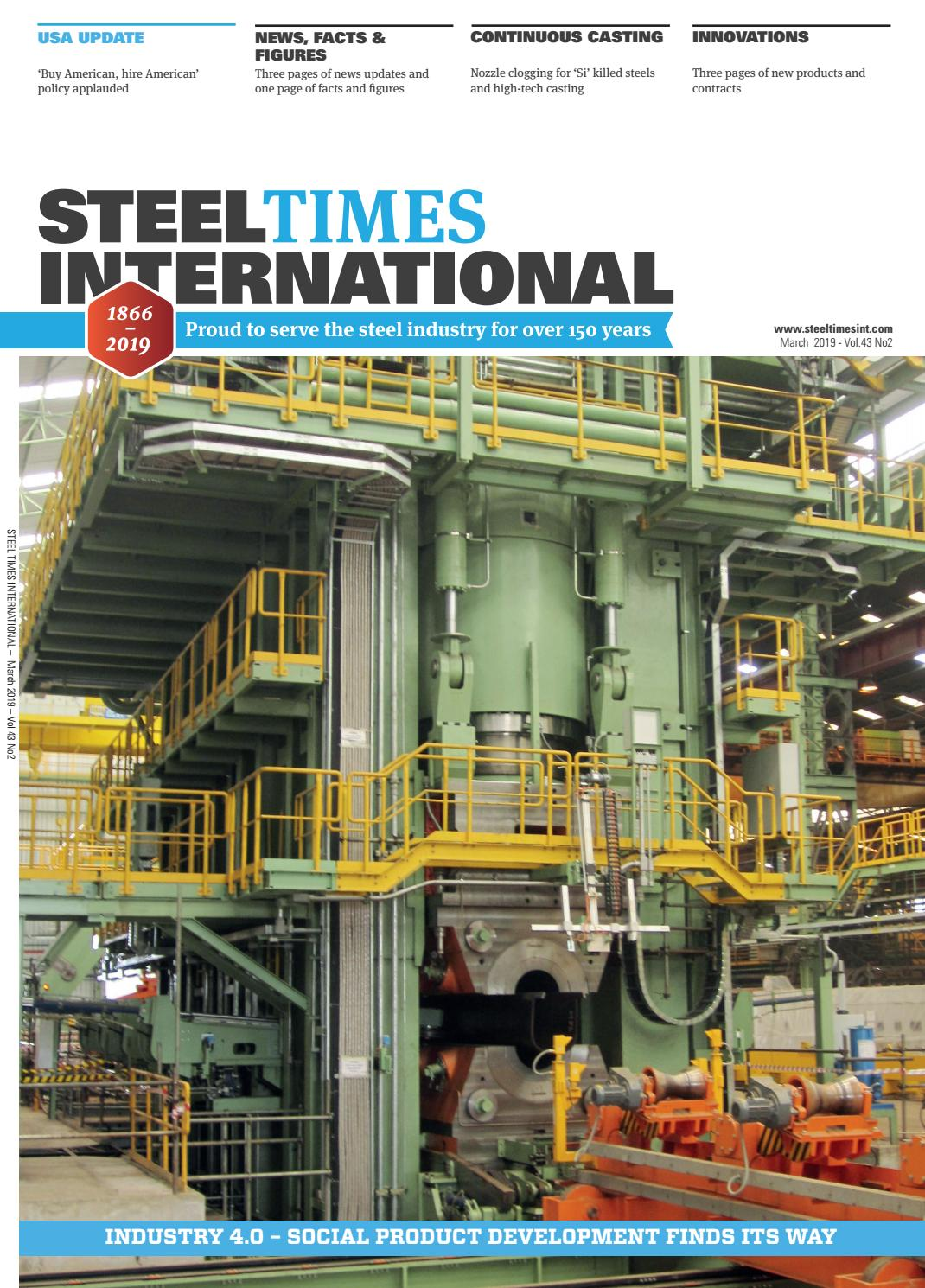 Steel Times International March 2019 by Quartz Business