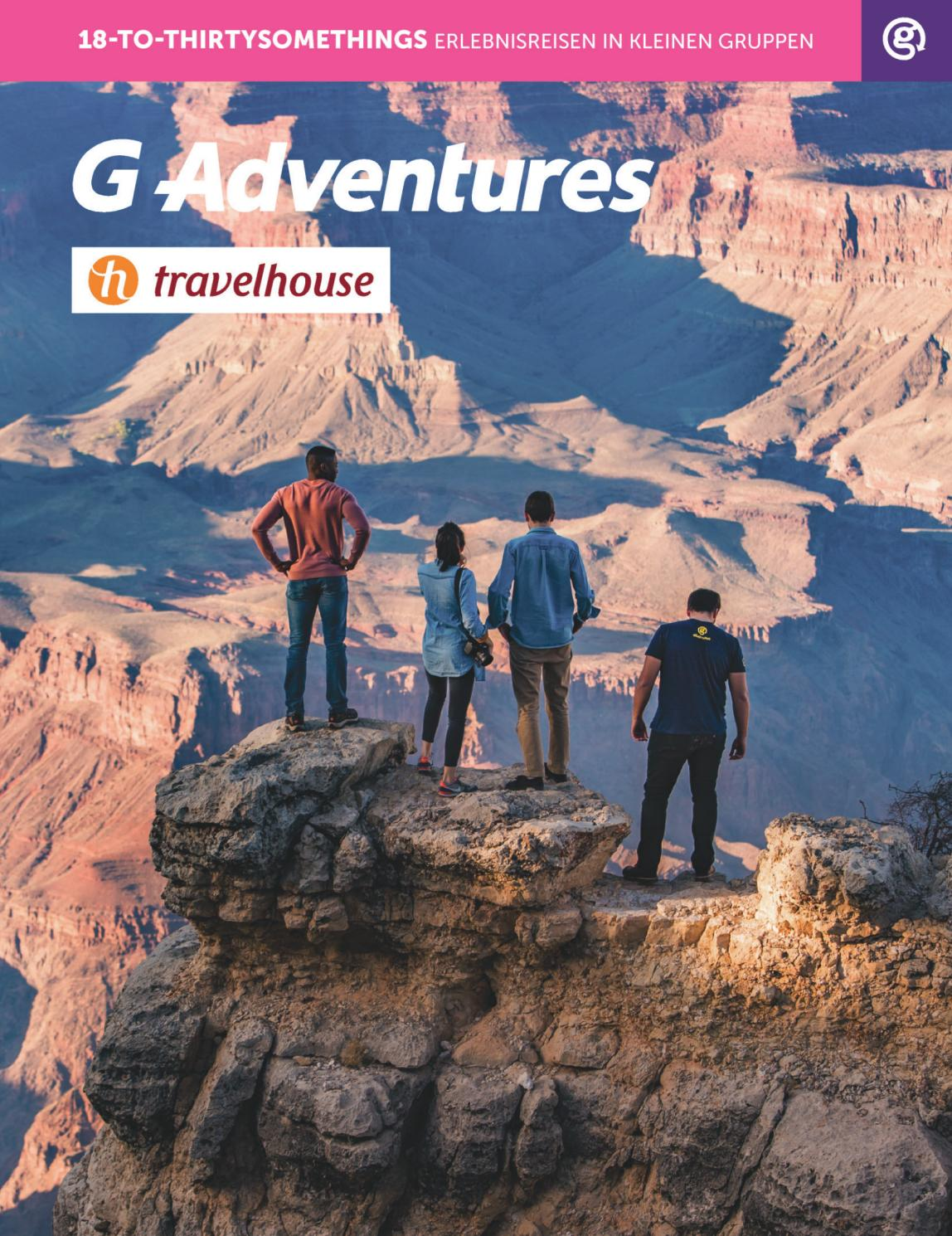 G Adventures 18 To Thirtysomethings 2019 Travelhouse By Hotelplan Suisse Mtch Ag Issuu