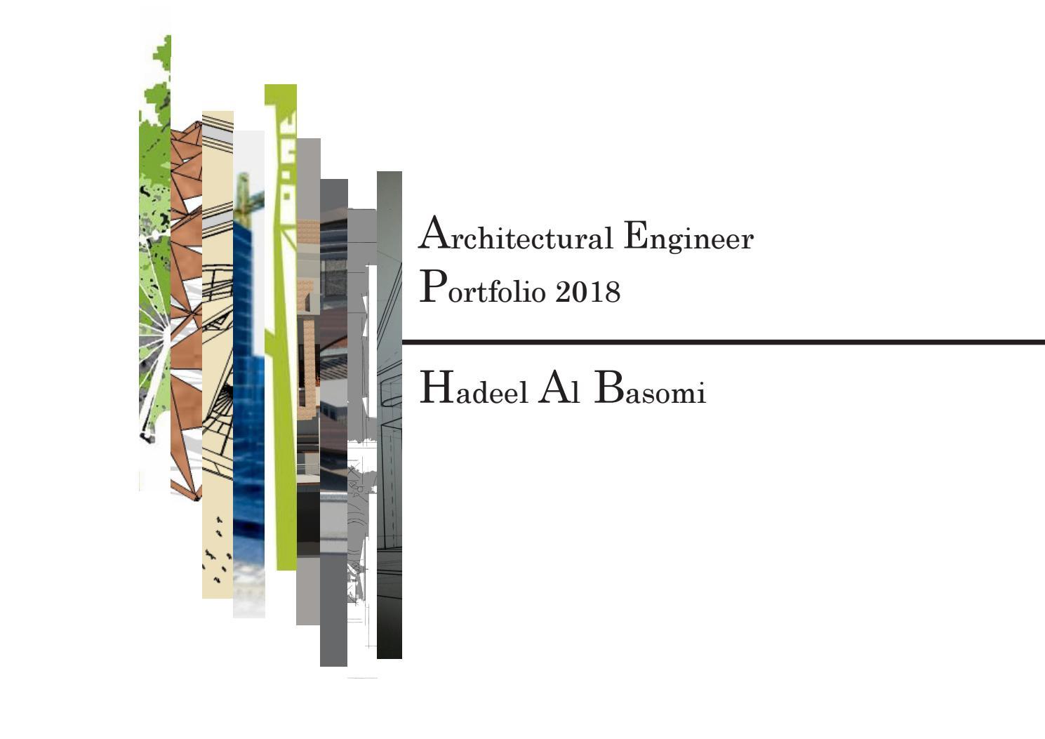 Architect Hadeel Y  Basomi by Hadeell Basomi - issuu