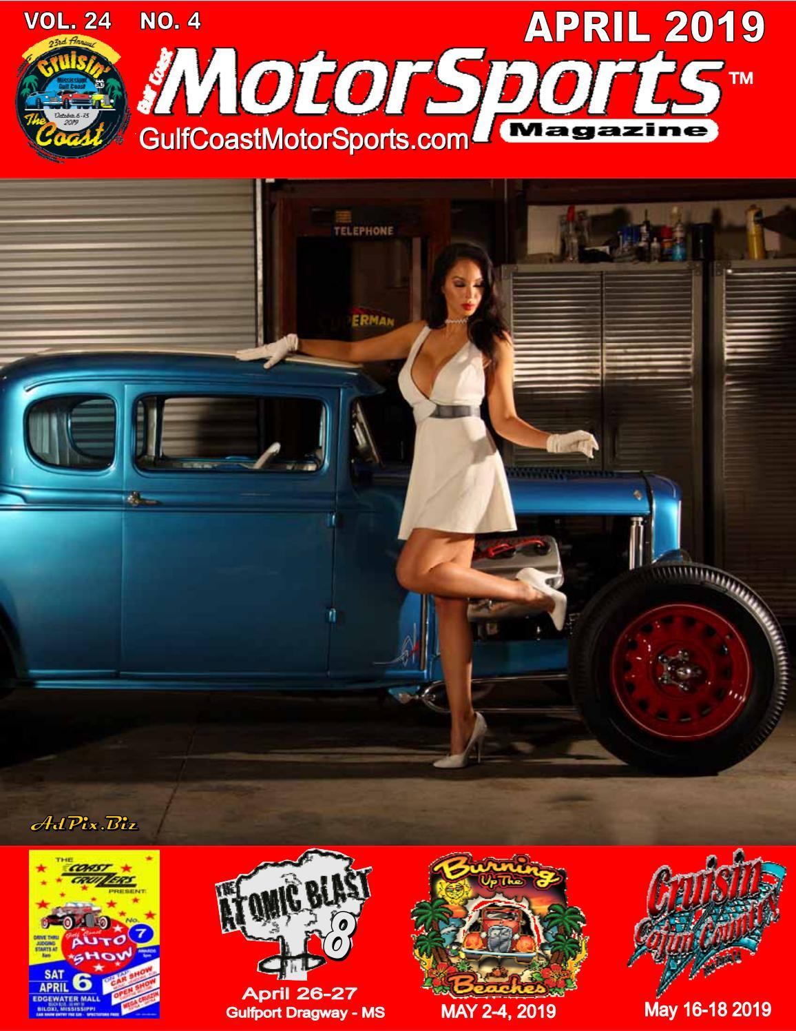 Gulf Coast MotorSports Magazine April 2019 By Jimbo