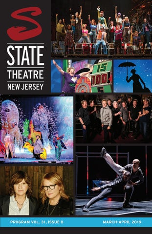 574f444d0dbf State Theatre New Jersey Program Vol. 31, Issue 8 by State Theatre ...