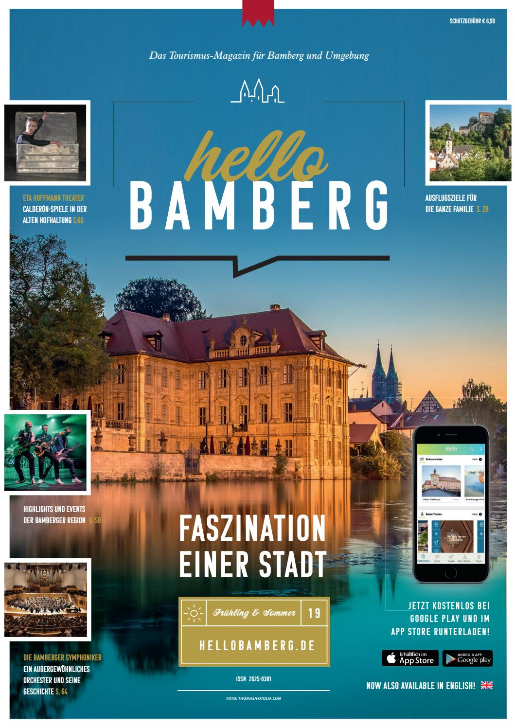 Hello Bamberg Fruhling 2019 By M Karg Infranken De Issuu
