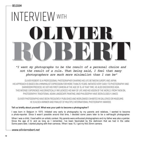 Page 20 of Interview with OLIVIER ROBERT