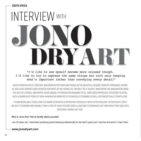Page 52 of Interview with JONO DRY ART