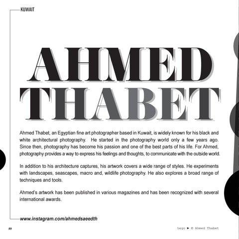 Page 90 of FEATURED: AHMED THABET