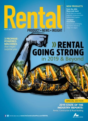 Rental March 2019 by ForConstructionPros.com - issuu on