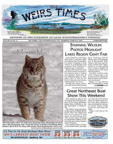 03/31/19 Weirs Times by The Weirs Publishing Company - issuu