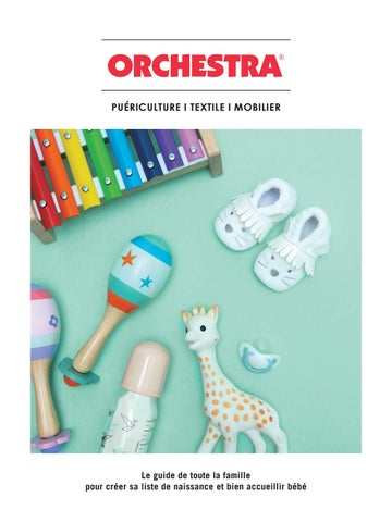 Catalogue Puériculture Orchestra 2019 By Orchestra Issuu