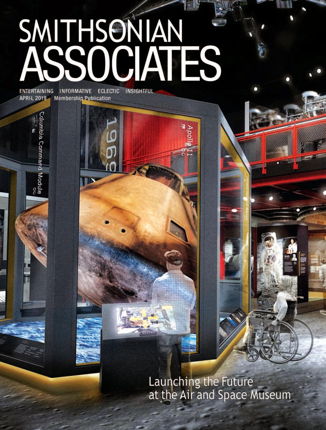 Smithsonian Associates April 2019 program guide by Smithsonian