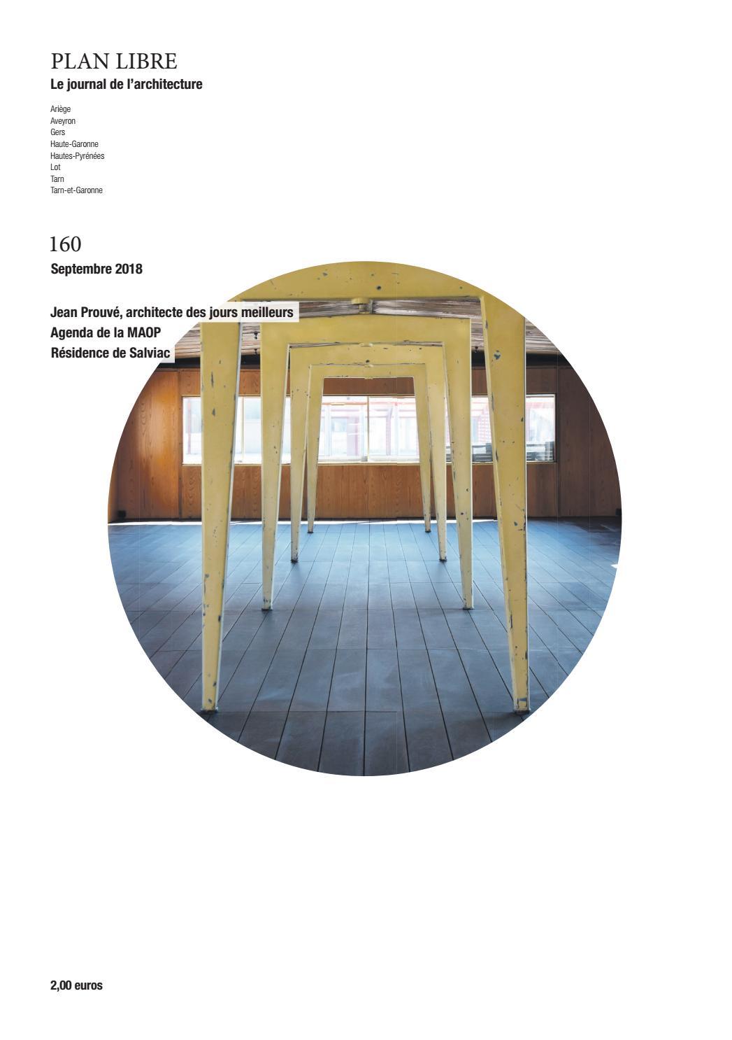Plan Libre 160 Septembre 2018 By Maison De Larchitecture