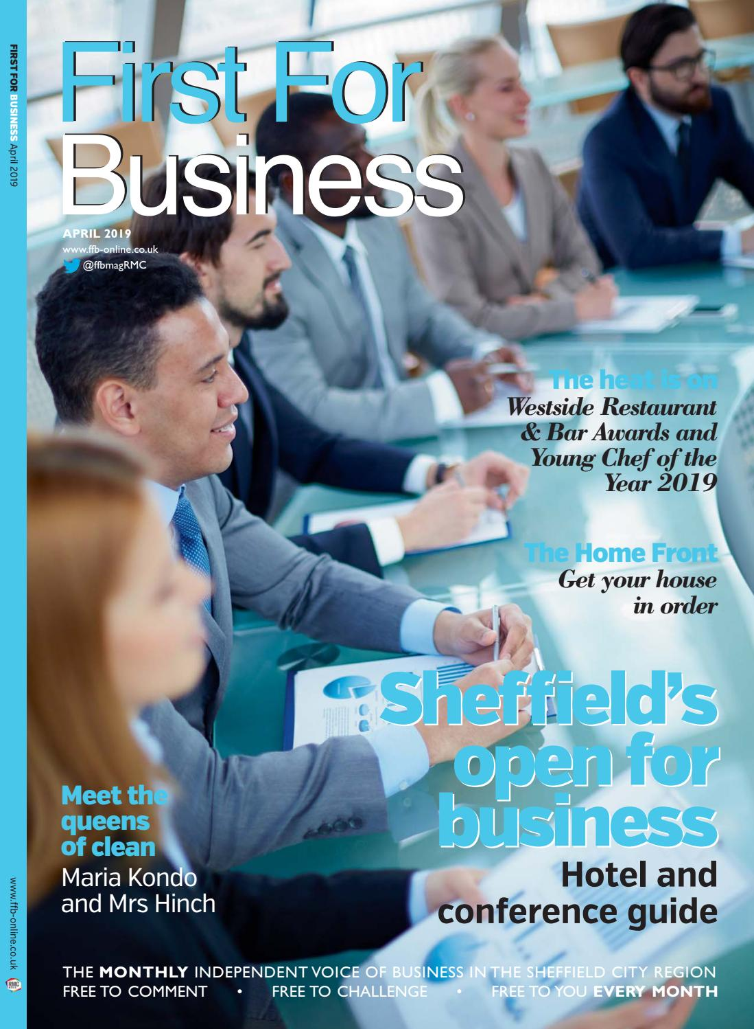 First for Business April 2019